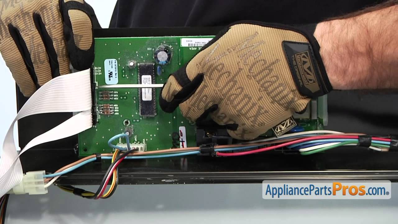 Whirlpool Washing Machine Wiring Diagram Grasshopper Internal Anatomy Duet Dryer Control Board (part #wp8546219) - How To Replace Youtube