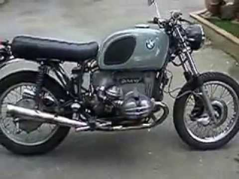 bmw r100 special scrambler cafe racer youtube. Black Bedroom Furniture Sets. Home Design Ideas