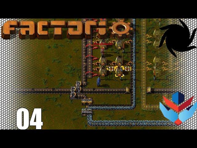 Factorio 1.0 Multiplayer 1K SPM Challenge - 04 - Steel