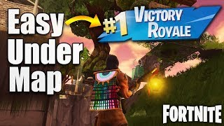 How to Get Under the Map with GOD Mode! *NEW* Fortnite Glitches Season 6 PS4/Xbox one 2018