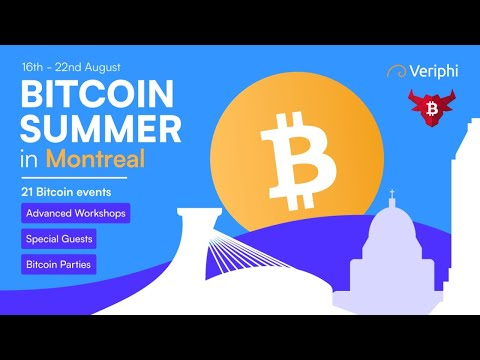 🔴 LIVE | Bitcoin Summer in Montreal Conference Restream | Presented By Bull Bitcoin | Aug 18th 2021