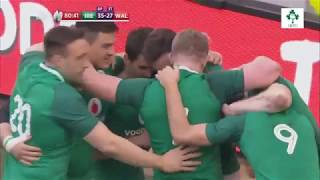 Irish Rugby TV: Ireland v Wales 2018 NatWest 6 Nations Highlights