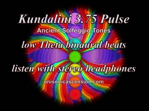 Kundalini 3 75 Pulse Solfeggio tones and binaural beats