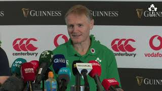 Irish Rugby TV: Ireland Team Announcement Press Conference
