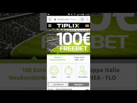 Video Sportwetten app download