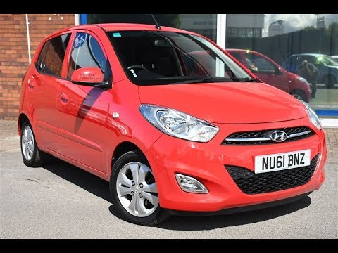 Used Hyundai I10 12 Active 5dr Red 2011 Youtube