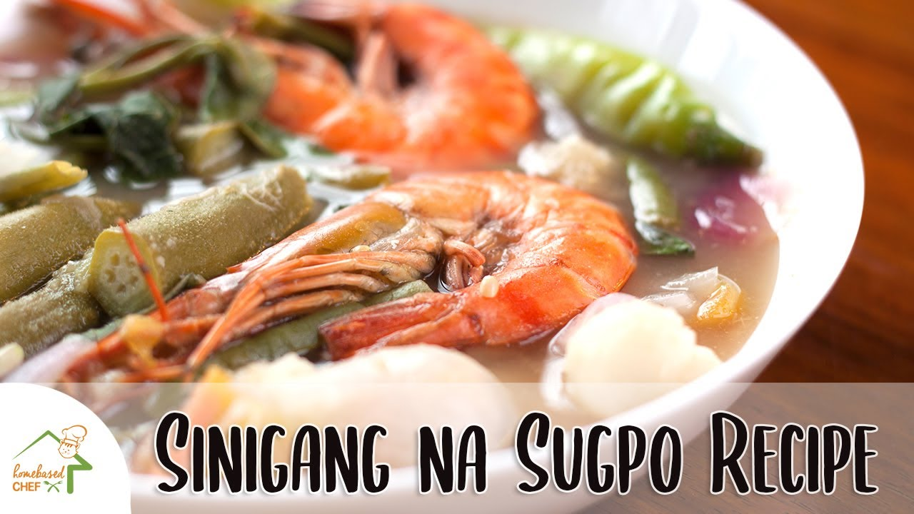 how to cook sinigang na sugpo