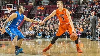 Highlights: oregon state men's basketball falls to tulsa