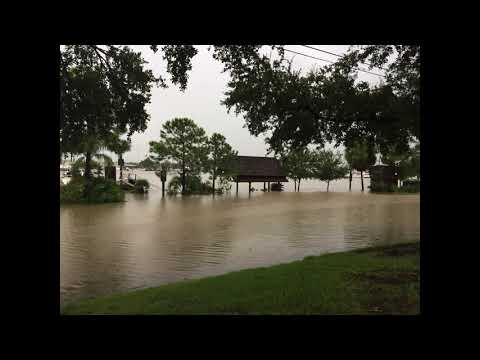 Hurricane Harvey 2017 - Waterford Harbor Marina and Watergate Marina