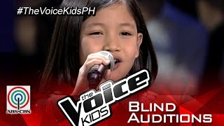 "The Voice Kids Philippines 2015 Blind Audition: ""Bituing Walang Ningning"" by Kristel"