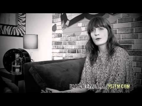 FLORENCE WELCH INTERVIEW WITH JARED SAGAL