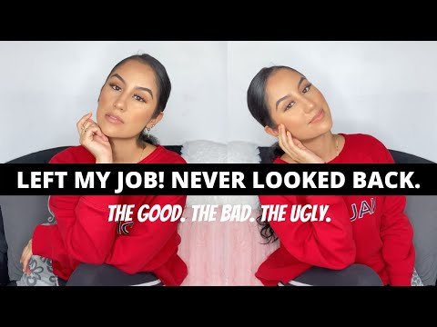 LEFT MY JOB to become an ENTREPRENEUR/SELF EMPLOYED! | How I Did it, Motivational speech, Story Time
