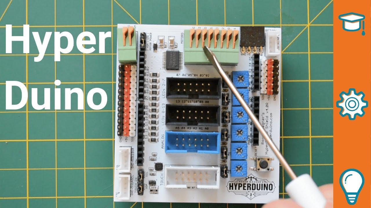 Hyperduino for teachers, integrating Arduino into the