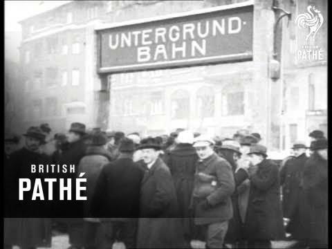 German Strike - 1922 - Crowded Transport (1922)
