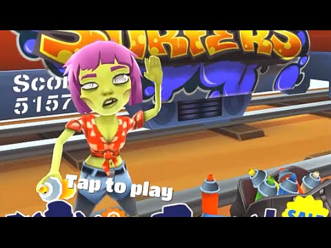 Subway Surfers RIO iPad Gameplay HD #8