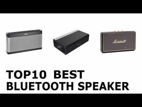 Top 10 Best Bluetooth Speaker