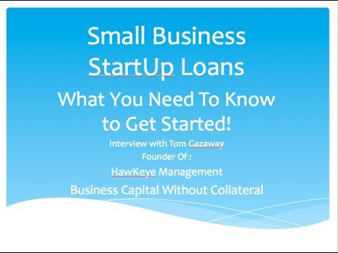 Small Business StartUp Loans