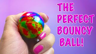 DIY: HOW TO MAKE THE PERFECT RAINBOW BOUNCY BALL WITH BORAX!