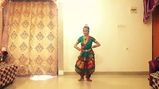 Artistco TV - Shilpa Menon Bharatnatyam dance to Alaipayuthe Kanna (waves are flowing)