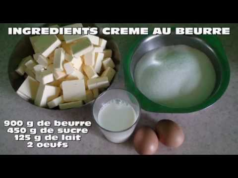 la cr me au beurre buttercream la cuisine de miss coco youtube. Black Bedroom Furniture Sets. Home Design Ideas
