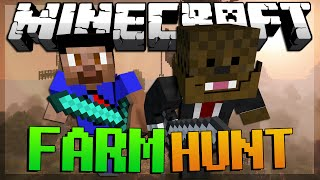 BRAND NEW Minecraft Farm Hunt Minigame w/ Vikkstar