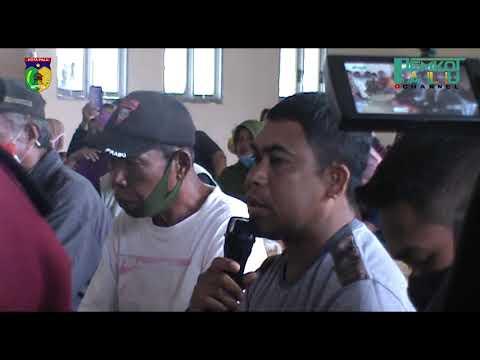 Wali Kota Palu Hadianto Berkunjung Ke Huntara Petobo