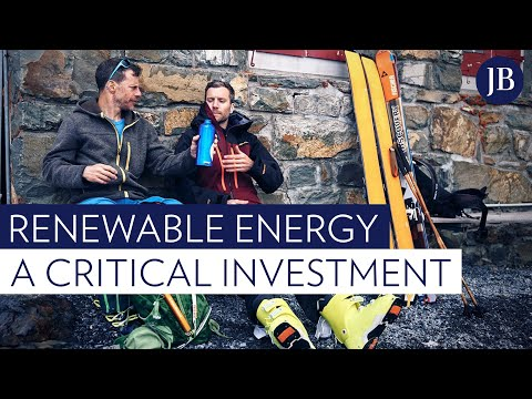 Why our future prosperity hinges on investments in renewable energy