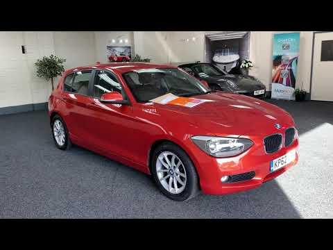 BMW 116d Efficiency Dynamics, Valencia Orange For Sale
