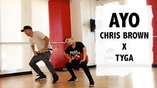 AYO - Chris Brown x Tyga - Matt Steffanina Choreography with 11 year old Aidan