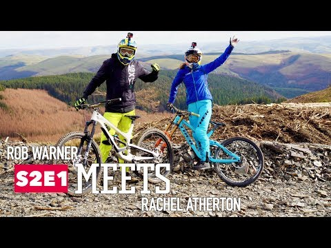 Rob meets mountain biker Rachel Atherton.