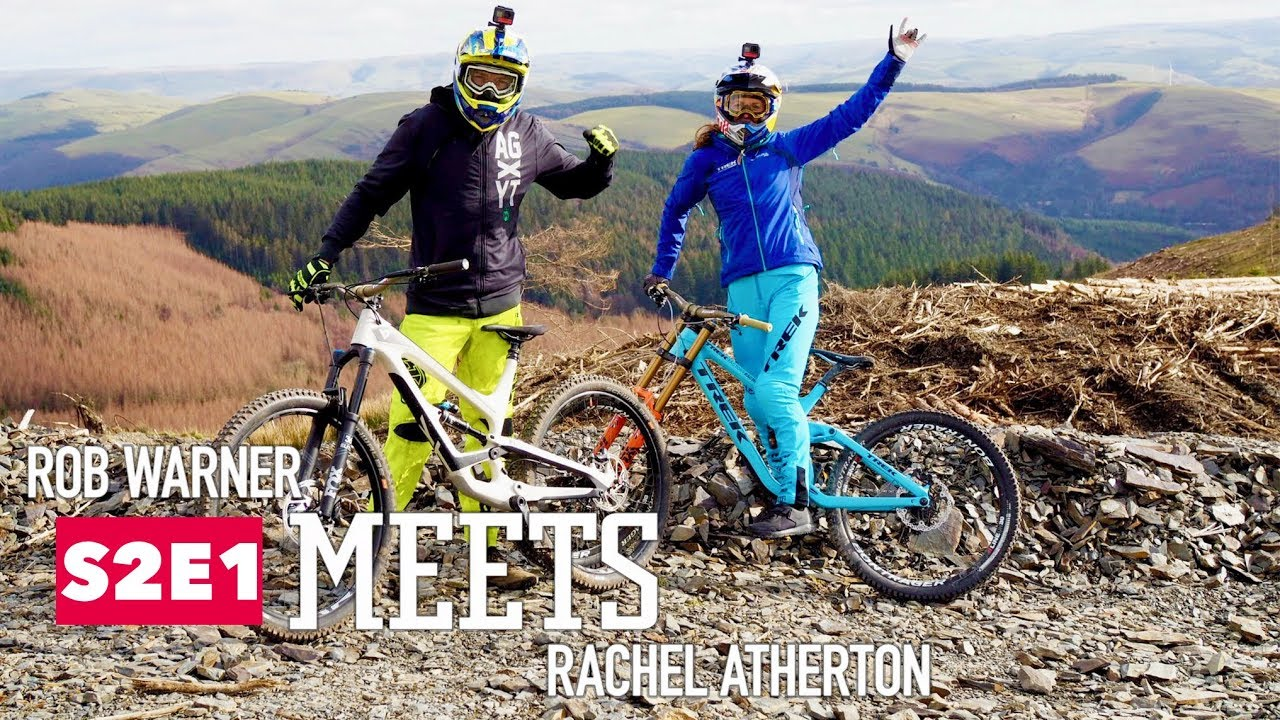 8867755462c Rob meets mountain biker Rachel Atherton. Red Bull Bike