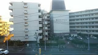 山陽電鉄・林崎松江海岸→山陽須磨[2018/1/6]