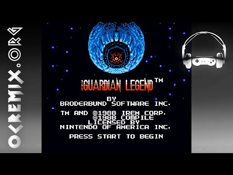 OC ReMix #692: Guardian Legend 'Big and Blue and Round' [Corridor Room A] by munky