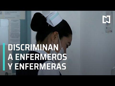 Coronavirus en México l Enfermeros y enfermeras víctimas de discriminación por Coronavirus