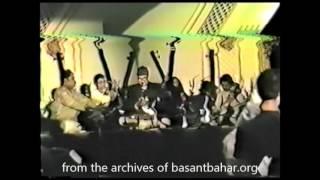 Pandit Ajoy Chakraborty and Samar Sahah Raag: Madhuvanti