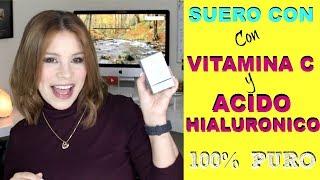 El Mejor Suero Antienvejecimiento con Vitamina C y Acido Hialurónico 100%PUROS  / Alicia Borchardt