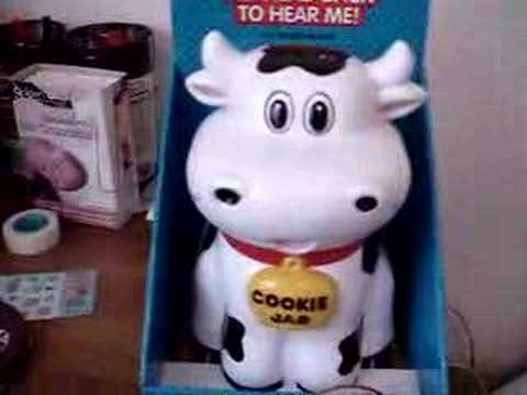 Quot Mooing Quot Cookie Jar Youtube