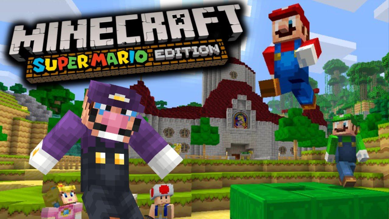 Minecraft Super Mario Edition Wii U My First Time