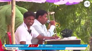 KARANJKOL VS INDAPUR MATCH AT KAMGAR UTKARSH SABHA CRICKET MOHOTSAV 2019