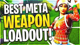 The Best Weapon Loadout To Use in Fortnite Season 7?! - Fortnite BR Season 7 Meta Best Loadout!
