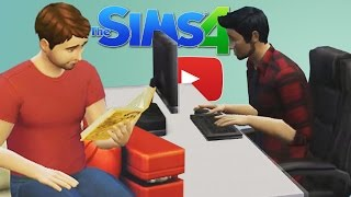 Writing Fanfictions! (The Sims 4: YouTube Edition!)