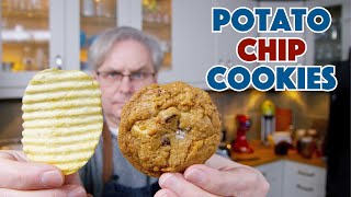 🔵 Chocolate Chip Potato Chip Cookies Recipe || Glen & Friends Cooking