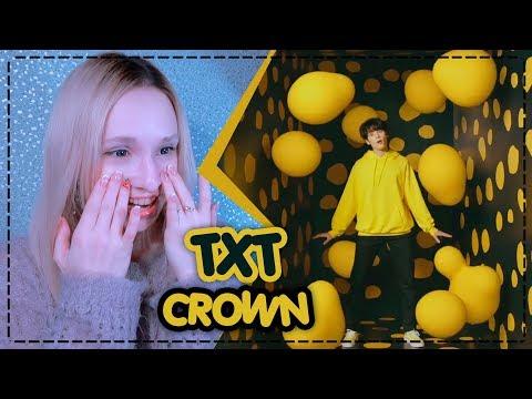 ЕГО ГЛАЗА! TXT - CROWN MV REACTION/РЕАКЦИЯ | KPOP ARI RANG