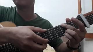 """Guitar hướng dẫn: Intro """"Lặng yên""""- Bùi Anh Tuấn ft Ái Phương - ST: Dương Trường Giang"""