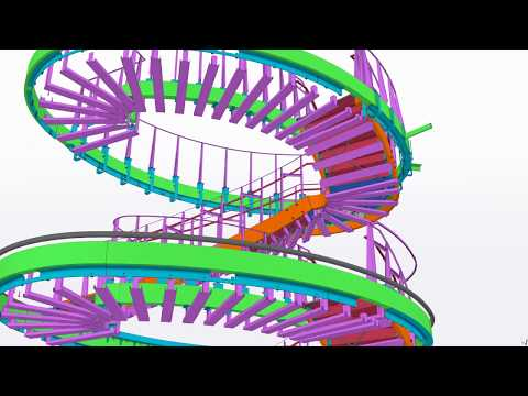 Nestle Headquarters USA Monumental Stair - 2018 Tekla North American BIM Awards