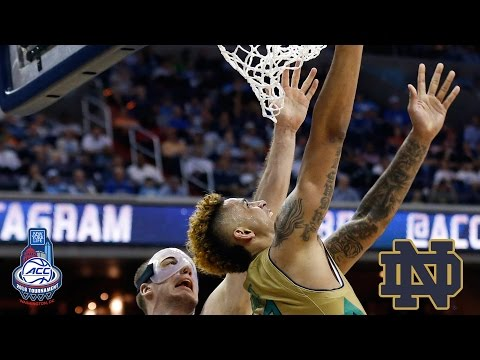Zach Auguste Career Day Leads Notre Dame To Amazing Comeback Win vs. Duke