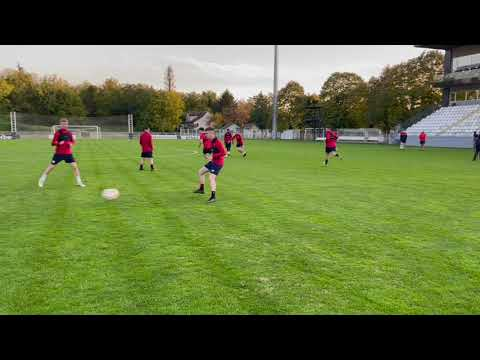 U19 Training Behind The Scenes | UEFA Youth League Matchday -1