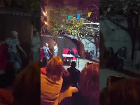 """Festa das vindimas  """"Teatro """" grupo de escuteiros de São Martinho de Mouros"""
