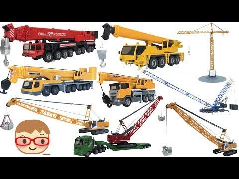 Toy Crane Truck For Kids    Excavator Toys For Children   SIKU Toys