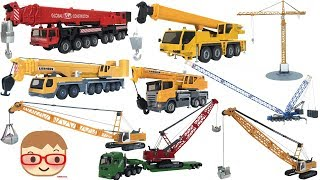 Toy Crane Truck for Kids |  Excavator Toys for Children | SIKU Toys